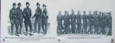 Officers and Men of the Corps d' Afrique, image. Click for full size.