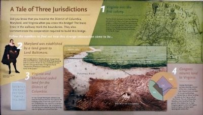 A Tale of Three Jurisdictions Marker image. Click for full size.