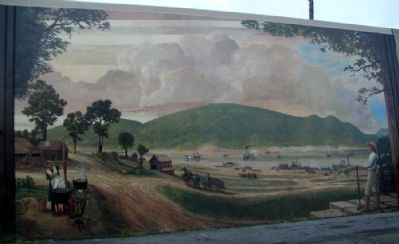 Early Bonneyfiddle Mural image. Click for full size.