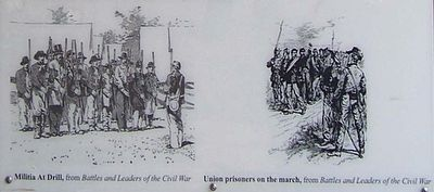 Camp Ford Confederate Guards Marker image. Click for full size.