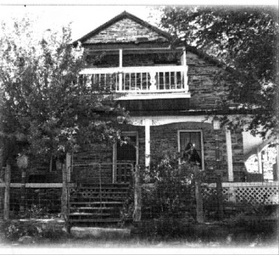 The Belmont Inn, formerly the Combination Mine building built in 1867 image. Click for full size.