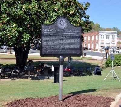 William Clayton Fain: Georgia Unionist Marker image. Click for full size.