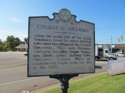 Cherokee Villages Marker image. Click for full size.