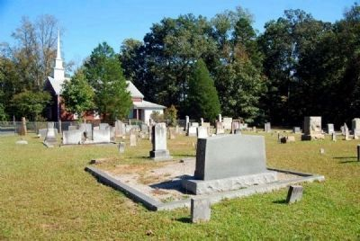 Gilgal UMC Cemetery and Church image. Click for full size.