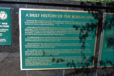 Brief History of the Korean War image. Click for full size.