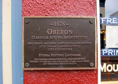 Oberon Marker image. Click for full size.