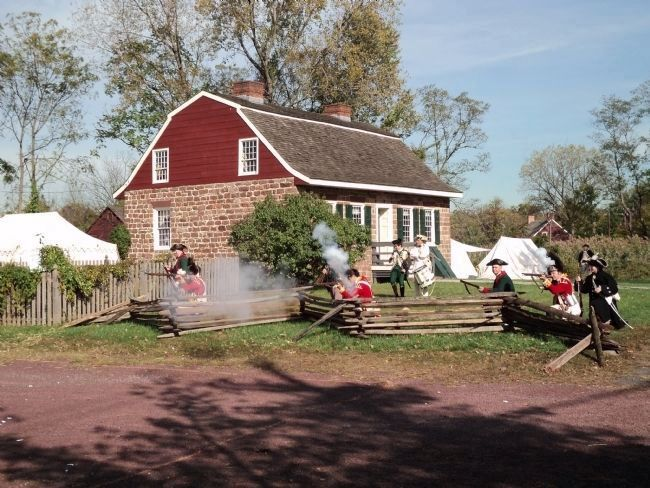 Reenactors at the Campbell – Christie House image. Click for full size.