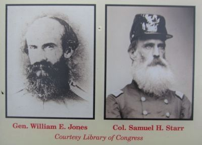 Portraits of Gen. Jones and Col. Starr image. Click for full size.