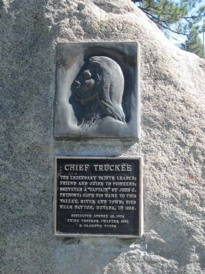 Chief Truckee Marker image. Click for full size.