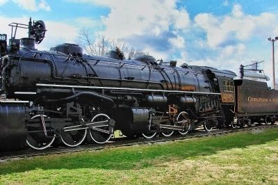 Chesapeake & Ohio 1308 Locomotive image. Click for full size.