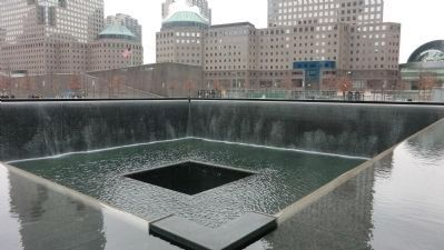 National September 11 Memorial image. Click for full size.