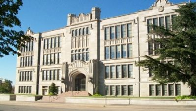 Central High School South Facade image. Click for full size.