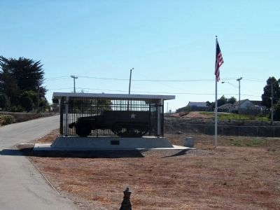 Company C 194th Tank Battalion Monument image. Click for full size.