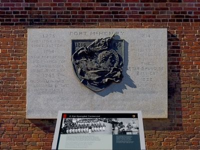 A Star Spangled Centennial Marker image. Click for full size.