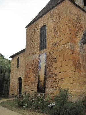 The old church at Saint Leon image. Click for full size.