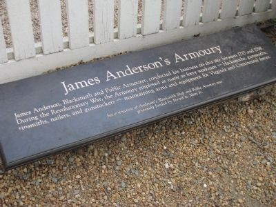 James Anderson's Armoury Marker image. Click for full size.