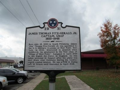 James Thomas Fitz-Gerald, Jr. Marker image. Click for full size.