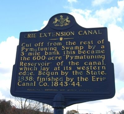 Erie Extension Canal Marker image. Click for full size.