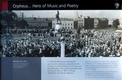 Orpheus... Hero of Music and Poetry Marker image. Click for full size.