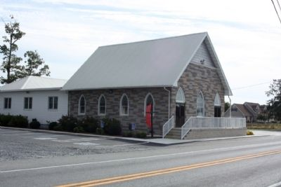 Zoar Methodist Church, along Gravel Hill Road image. Click for full size.
