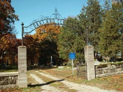 North Entrance - - Oakland Cemetery Marker image. Click for full size.