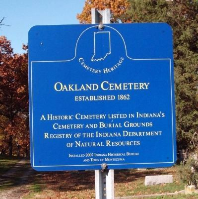 Oakland Cemetery (North) Marker image. Click for full size.