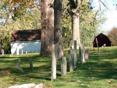 Looking North - - Montezuma Cemetery image. Click for full size.