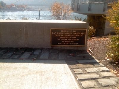 County of Allegheny-Law Enforcement Officers Memorial image. Click for full size.
