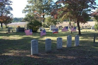 Old Brown Marsh Presbyterian Church Cemetery image. Click for full size.