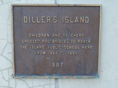 Diller's Island Marker image. Click for full size.