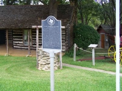 Alva Everett Taylor Marker at Pioneer Village Museum image. Click for full size.