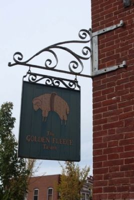 The Golden Fleece Tavern Shingle image. Click for full size.