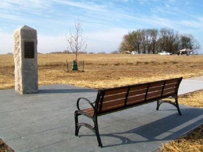 Battle of Island Mound Memorial image. Click for full size.