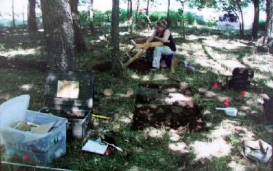 Photo of The Toothman Farm Dig on Marker image. Click for full size.