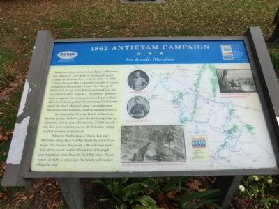 1862 Antietam Campaign Marker image. Click for full size.