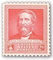 Dr. Crawford W. Long Stamp image. Click for full size.