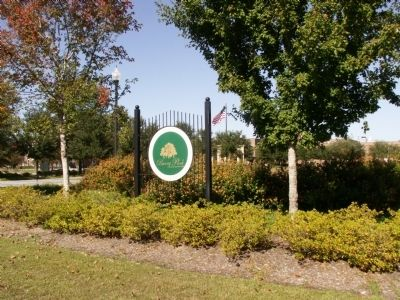 Sign at the entrance to Burry Park image. Click for full size.