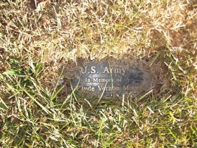 U.S. Army Dedication Plaque image. Click for full size.