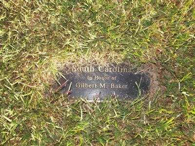 South Carolina Dedication Plaque image. Click for full size.
