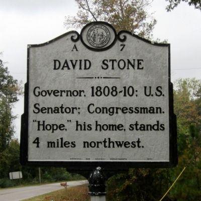 David Stone Marker image. Click for full size.