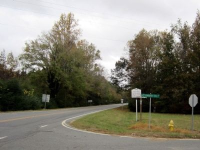 NC 561 & Community Center Rd image. Click for full size.