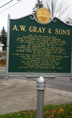 A. W. Gray & Sons image. Click for full size.