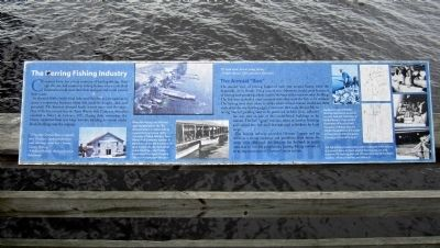 The Herring Fishing Industry Marker image. Click for full size.