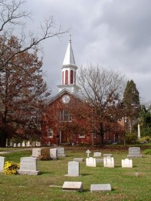 St Paul's Episcopal Church and Cemetery image. Click for full size.