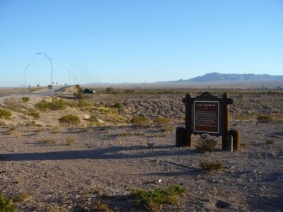 Camp Lordsburg Marker image. Click for full size.