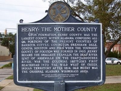 Henry, The Mother County Marker image. Click for full size.