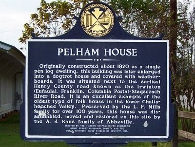 Pelham House Marker image. Click for full size.