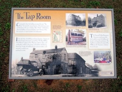 The Tap Room Marker image. Click for full size.