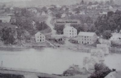 Shepherdstown in the Civl War image. Click for full size.