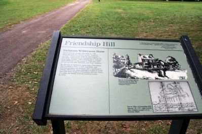 Friendship Hill Marker image. Click for full size.